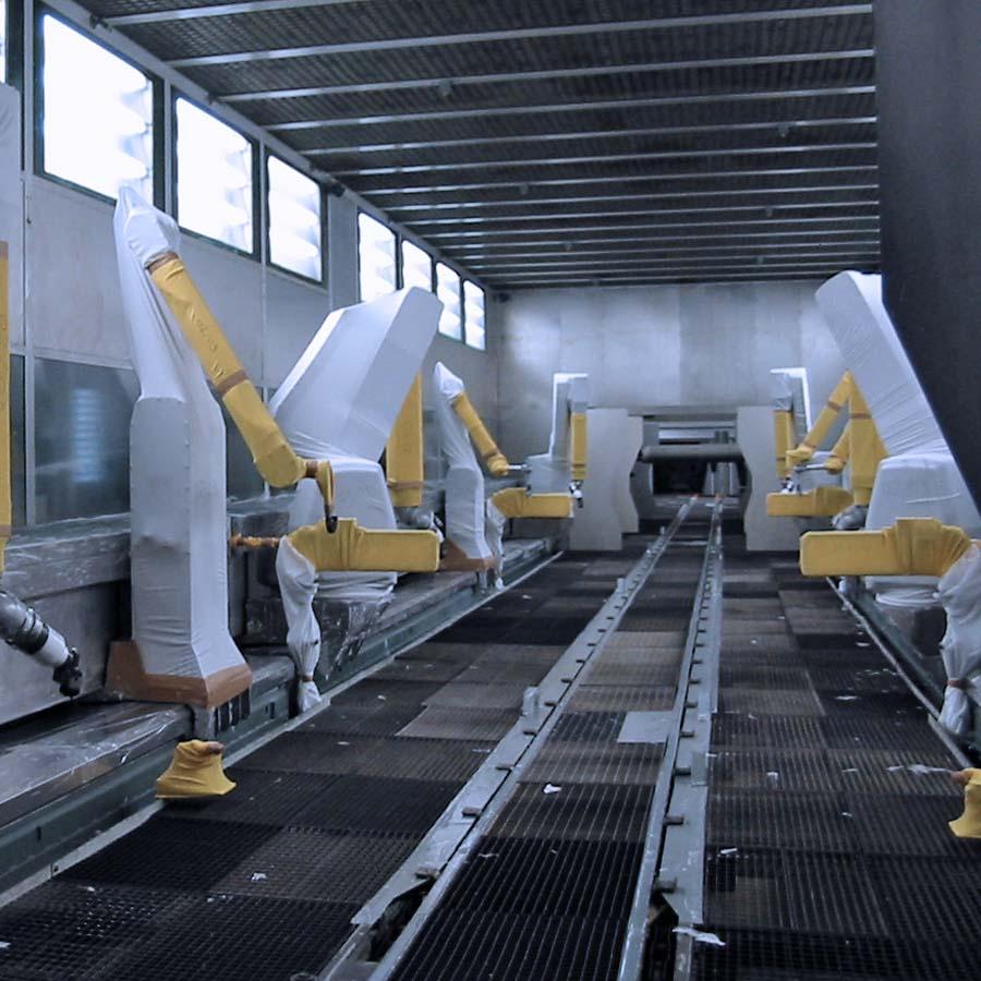 Automotive - Slat & Skid Conveyors | Entecom