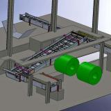 Apron Conveyor - 3D Design Layout