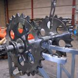 Roller Chain - Wheel Assembly